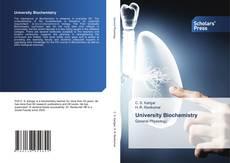 Bookcover of University Biochemistry
