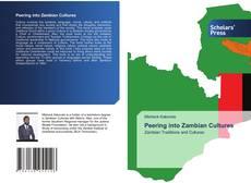 Portada del libro de Peering into Zambian Cultures