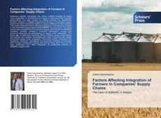 Bookcover of Factors Affecting Integration of Farmers In Companies' Supply Chains