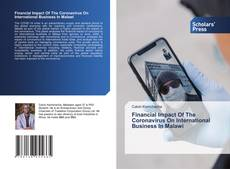 Bookcover of Financial Impact Of The Coronavirus On International Business In Malawi