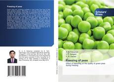 Bookcover of Freezing of peas
