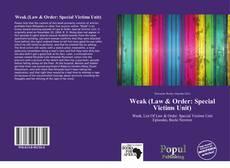 Weak (Law & Order: Special Victims Unit) kitap kapağı