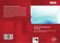 Bookcover of Weak Gravitational Lensing