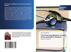 Capa do livro de The First Iraqi Medical Journal to be included in Scopus