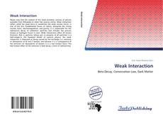 Bookcover of Weak Interaction