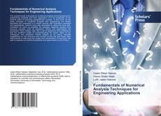 Capa do livro de Fundamentals of Numerical Analysis Techniques for Engineering Applications