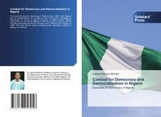 Buchcover von Combat for Democracy and Democratization in Nigeria