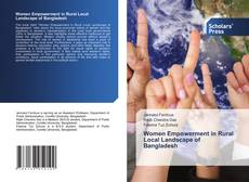 Bookcover of Women Empowerment in Rural Local Landscape of Bangladesh