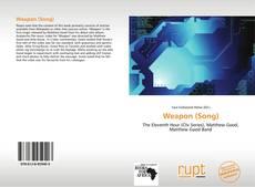 Capa do livro de Weapon (Song)