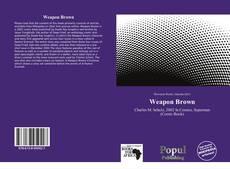 Capa do livro de Weapon Brown