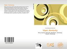 Capa do livro de Viper, Kentucky