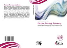 Bookcover of Persian Fantasy Academy