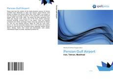 Capa do livro de Persian Gulf Airport