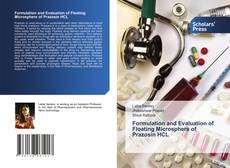 Copertina di Formulation and Evaluation of Floating Microsphere of Prazosin HCL