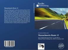 Copertina di Massachusetts Route 13