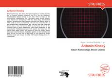 Antonín Kinský的封面