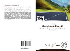 Copertina di Massachusetts Route 40