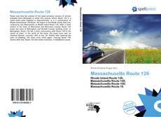 Bookcover of Massachusetts Route 126
