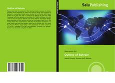 Bookcover of Outline of Bahrain