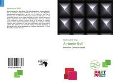 Bookcover of Antonín Boll