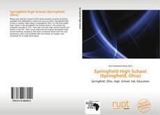 Bookcover of Springfield High School (Springfield, Ohio)