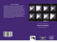 Bookcover of Antreteordnung