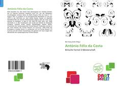 Buchcover von António Félix da Costa