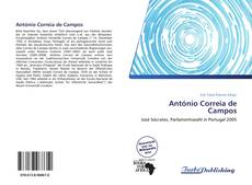 Buchcover von António Correia de Campos
