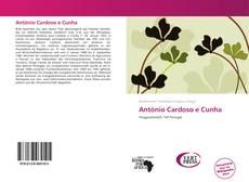 Capa do livro de António Cardoso e Cunha