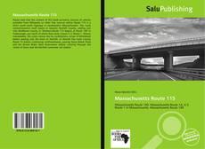 Buchcover von Massachusetts Route 115