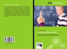 Portada del libro de Bewegung (Mathematik)