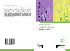 Capa do livro de Antônio Gaspar