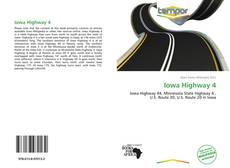 Portada del libro de Iowa Highway 4
