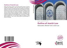 Capa do livro de Outline of Jewish Law