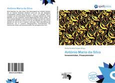 Capa do livro de António Maria da Silva