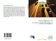 Bookcover of Iowa Highway 15