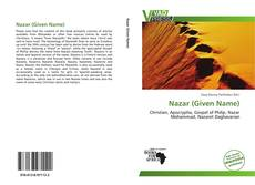 Bookcover of Nazar (Given Name)