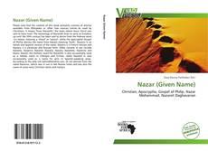 Copertina di Nazar (Given Name)