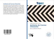 Capa do livro de Antônio do Carmo Cheuiche