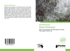 Bookcover of Nazar Petrosyan