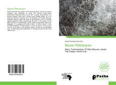 Copertina di Nazar Petrosyan
