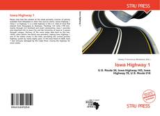 Portada del libro de Iowa Highway 1