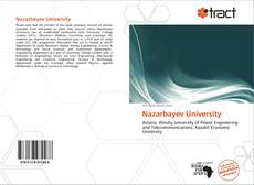 Portada del libro de Nazarbayev University