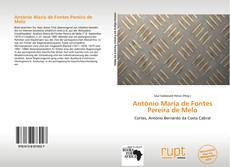 Bookcover of António Maria de Fontes Pereira de Melo