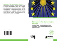 Обложка Bewegung für Europäische Reform