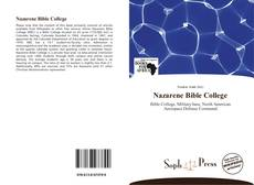 Bookcover of Nazarene Bible College