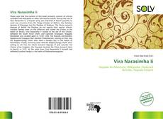 Bookcover of Vira Narasimha Ii