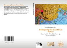 Buchcover von Bewegung für eine Neue Kultur