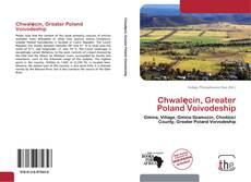 Chwalęcin, Greater Poland Voivodeship kitap kapağı