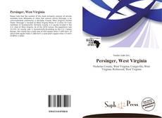 Bookcover of Persinger, West Virginia